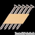Papier-Streifennägel 34° 4,0 x 40 Ring ANKER verzinkt