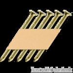 """Ankernägel 4,0x50 """"W"""" , 34 Grad Papier, VZ12"""