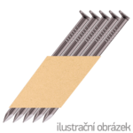 D-Kopf Streifennägel 34° 2,8 x 80 mm glatt, blank
