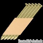 Streifennägel 34° D-Kopf 3,4 x 100 Glatt verzinkt