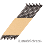 Papier-Streifennägel 34° D-Kopf 2,8 x 50 ring blank