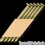 Streifennägel 34° D-Kopf 3,1 x 80 mm Ring verzinkt 12µ