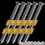 PE-Streifennägel 20° 3,1x90 Ringschaft, blank