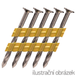 Streifennägel 2,8 x 70 Schraub