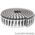 Coil-Plast 16° Haftennägel 2,5 x 35 Ring NiRo A2