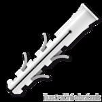 Universaldübel mit Rand, Nylon 8x40mm