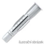 Hohlraumdübel mit Rand UHL 10x61mm, Nylon