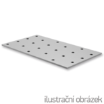 Lochplatten 80x120x2,0