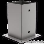 Aufschraubhülse für Holzpfosten 100x100x150