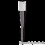 Einschlag-Bodenhülse, quadratisch 100x100x750
