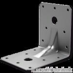 Winkelverbinder 90° Typ 4 mit Rippe 90x105x105x2,0