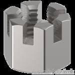 Matice korunková M10 ZB DIN 935, 6