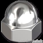 Sechskant-Hutmuttern DIN 1587  M20, Kl.6, verzinkt