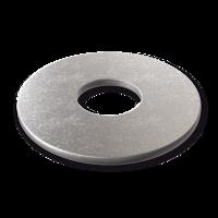 Scheiben DIN 9021 verzinkt mit großem Außendurchmesser