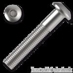Linsenschrauben ISO 7380 Kl. 10.9 M8x50mm, mit Innensechskannt, verzinkt