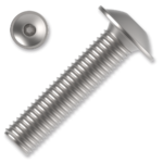 Linsen-Flanschschrauben ISO 7380-2 Kl. 10.9 M8x60mm, mit Innensechskant, verzinkt