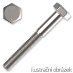 Sechskantschrauben DIN931 M8x55, Kl.8.8, verzinkt
