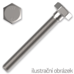 Sechskantschrauben DIN933 M5x35, Kl.8.8, verzinkt