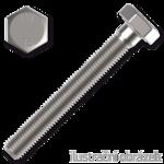 Sechskantschrauben DIN933 M4x10, Kl.8.8, verzinkt