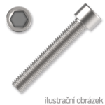 Zylinderschrauben mit Innensechskant M4x8 DIN 912 8.8 verzinkt