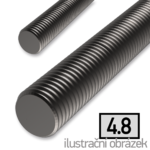 Gewindestange DIN976 M18x1000, Kl.4.8, blank