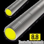 Gewindestange DIN976 M8x1000, Kl.8.8, verzinkt