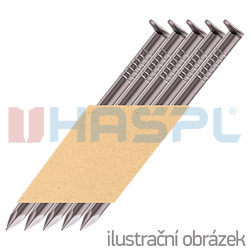 Streifennägel 34° D-Kopf 3,1 x 90 glatt, blank