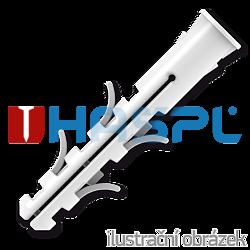 Universaldübel mit Rand, Nylon 8x40mm - 1