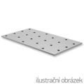 Lochplatten 60x140x2,0 - 1/3