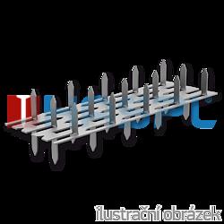 Nagelplatte,  beiderseitig 35x84x1,5 - 1