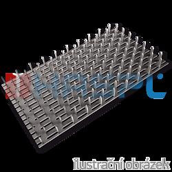 Nagelplatte 126x252x1,5 - 1