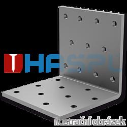 Winkelverbinder 90° Typ 1 80x60x60x2,0 - 1