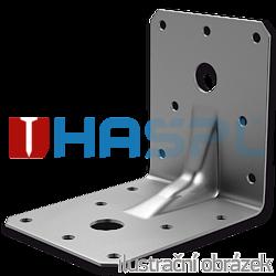 Winkelverbinder 90° Typ 4 mit Rippe 55x70x70x2,0 - 1