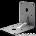 Winkelverbinder 90° Typ 4 mit Rippe 55x70x70x2,0 - 1/3