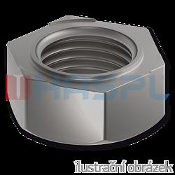 Sechskant-Schweißmutter DIN 929, M16, blank