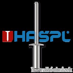Blindniete Flachrundkopf 4,8x16mm, Alu/Stahl - 1