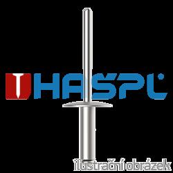 Blindniete großer Flachrundkopf 3,2x12 mm, Alu/Stahl