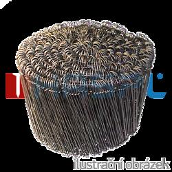 Rödeldraht, Drilldraht, Stahl blank 100 mm - 1000 Stk