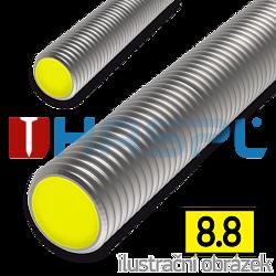 Gewindestange DIN975 M24x1000, Kl.8.8, verzinkt