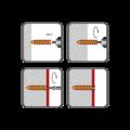Polystyrendübel HDP 60, 23x58 mm, polyamid - 2/2