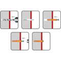 Nageldübel Senkkopf 5x35 mm, Nylon - 2/2