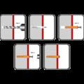 Nageldübel Senkkopf 5x45 mm, Nylon - 2/2
