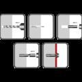 Einschlaganker, Stahl verzinkt 10x30, M8 - 2/2