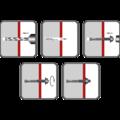Schwerlastanker M12x140 mm, verzinkt - 2/2