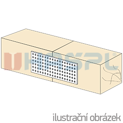 Lochplatten 40x120x2,0 - 2