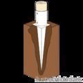 Einschlagbodenhülse, rund 120x900 - 2/3
