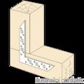 L - Flachverbinder 130x130x32x2,0 - 2/3