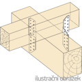 Sparrenpfettenanker 170x2,0 - 2/3