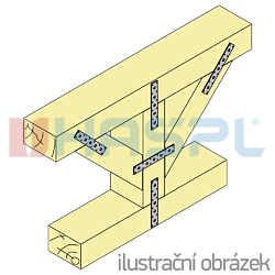Verbindungsplatte 40x260x3,0 - 2