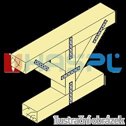 Verbindungsplatte 40x140x3,0 - 2